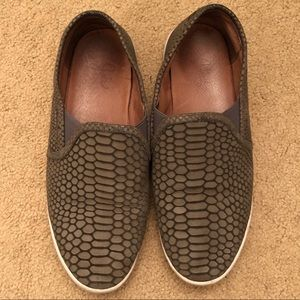 Joie Kidmore Snake Dash Print Slip-On Sneakers
